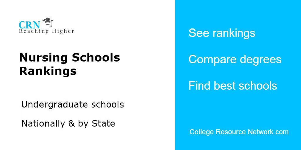 2018-2019 Best Nursing Schools Rankings | CRN